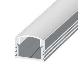 LP-12 LED profile, 2000 mm, raw aluminium