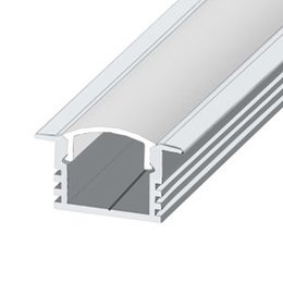 LPV-12 LED profile, 2000 mm, raw aluminium