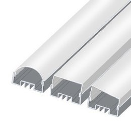 LSO LED profile, 2000 mm, raw aluminium
