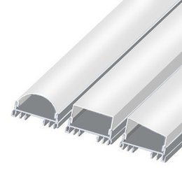 LSS LED profile, 2000 mm, raw aluminium